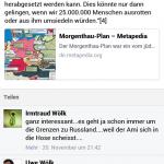 Uwe und Irmtraud Wölk, stammgäste auf PDV-Demonstrationen und Fans antisemitischer Hetze