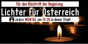 Lichter für Österreich
