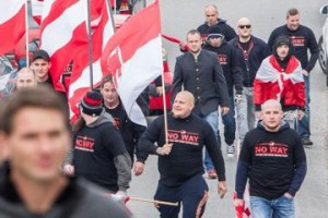 vorarlberger neonazis bei idi-aufmarsch in Spielfeld am 15.11.2015