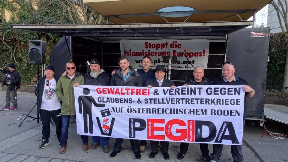 Pegida, Feb.2016 Graz
