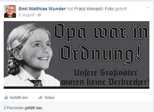 Emil Matthias Wunder Ein Hans Dampf In Allen Rechtsextremen Gassen