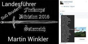 freikorps division 2016 österreich landesführer martin winkler