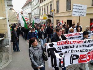 PEGIDA 29.3.2015 Graz
